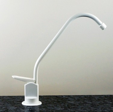LRF-120 White Long Reach Faucet