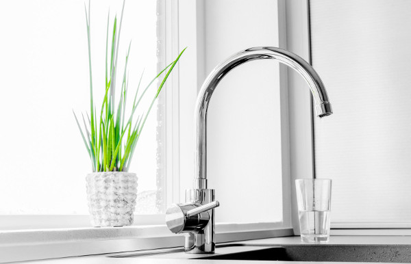 Filtration Systems For The Home Including Kitchen Faucets